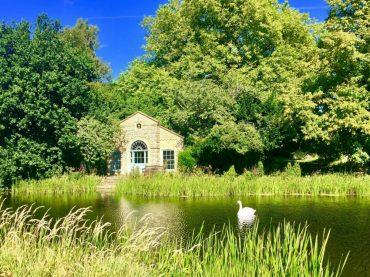 Norfolk yoga retreat lake in summer - august bank holiday yoga retreat norfolk