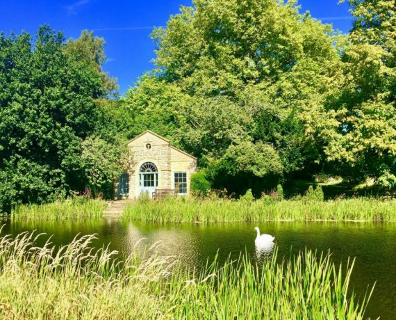 Norfolk yoga retreat lake in summer - august bank holiday yoga retreat norfolk