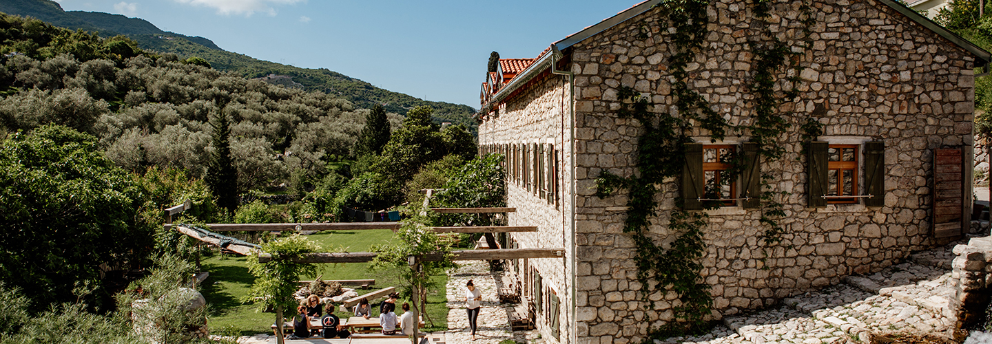 montenegro house and outside area
