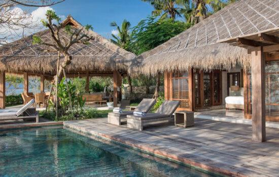 Pool side suite Yoga Holiday Bali